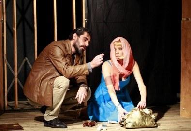 Театър и вино! Гледайте Асансьорът по текст на Георги Марков на 14-ти март (сряда) от 19:00 часа в Нов театър - НДК!