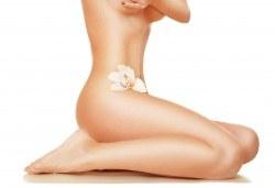 Гладка като коприна кожа! IPL+RF фотоепилация за жени на пълен интим и подмишници в салон за красота Beauty Angel! - Снимка