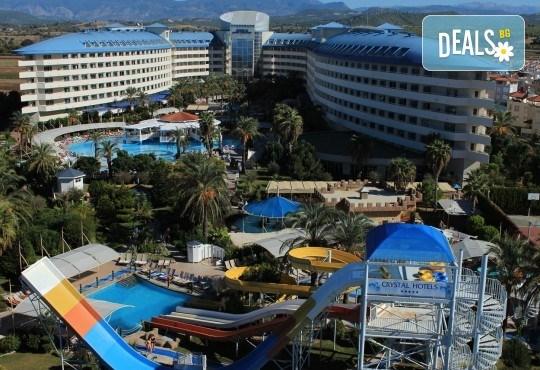 Почивка на Турската ривиера за Майските празници! 7 нощувки на база Ultra All Inclusive в Crystal Admiral Resort Suites & Spa 5*, Сиде, и 2 нощувки със закуски в Истанбул и Бурса, транспорт - Снимка 10