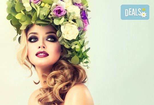 За Вашето събитие! Пробна официална прическа, грим и маникюр във фризьоро-козметичен салон Вили! - Снимка 1