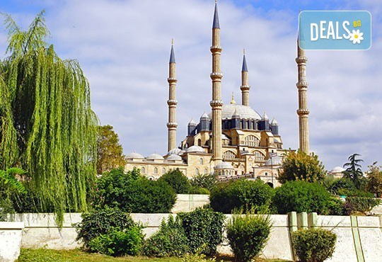 Шопинг екскурзия до Одрин за 1 ден! Транспорт, екскурзовод, посещение на джамията Селимие и мол Erasta и Margi Outlet - Снимка 1