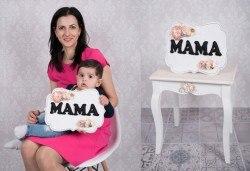 Професионална фотосесия за мама с детенце с красиви декори и аксесоари от GALLIANO PHOTHOGRAPHY! - Снимка