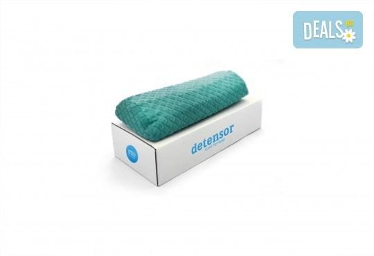 За спокоен сън вземете ортопедична възглавница от Detensor с възможност за доставка! - Снимка 6