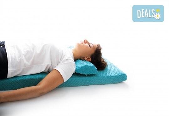 За спокоен сън вземете ортопедична възглавница от Detensor с възможност за доставка! - Снимка 7