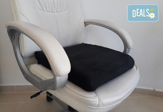 Профилактика при гръбначни изкривявания и болки! Ортопедична седалка или облегалка стандарт от Detensor с възможност за доставка! - Снимка 5