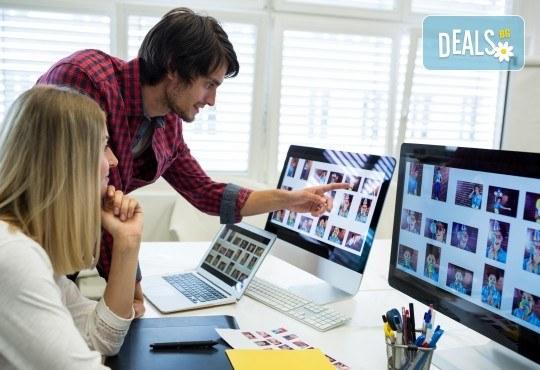 Направете сами визитните картички и логото за Вашата фирма с едномесечен онлайн курс по графичен дизайн CorelDRAW X6 в Учебен център Магнолия! - Снимка 1