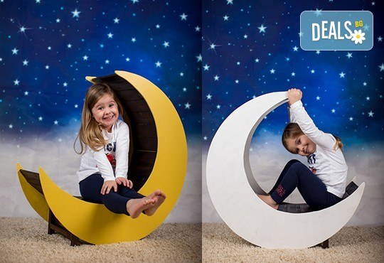 Професионална детска или семейна фотосесия по избор, в студио или външна и обработка на всички заснети кадри от Chapkanov Photography! - Снимка 17