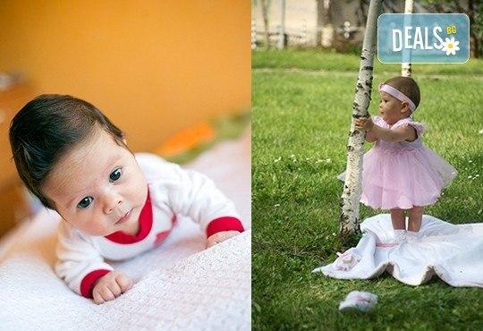 Професионална детска или семейна фотосесия по избор, в студио или външна и обработка на всички заснети кадри от Chapkanov Photography! - Снимка 7