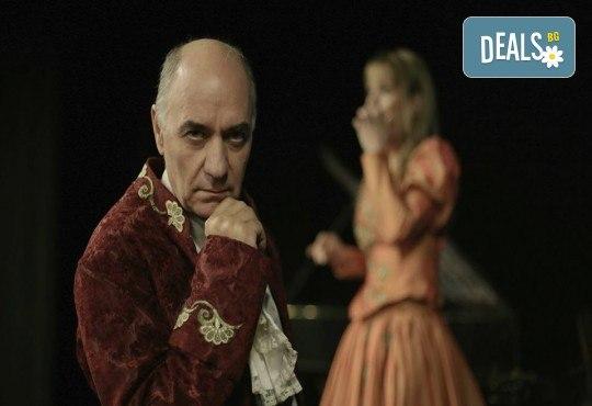 Гледайте спектакъла Амадеус с Георги Кадурин на 5-ти април (четвъртък) от 19 часа в Нов театър - НДК! - Снимка 1