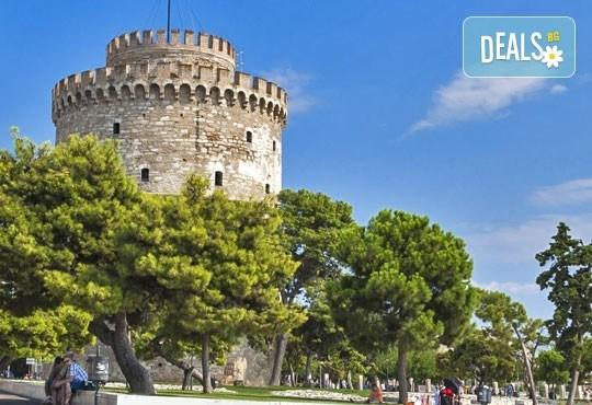 Великден в Гърция, Олимпийска Ривиера, с Дениз Травел! 2 нощувки със закуски и вечери в хотел Dafni plus 2*, транспорт, екскурзовод, панорамна обиколка в Солун - Снимка 2