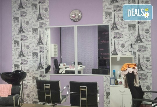 Красив маникюр! Изграждане с гел, маникюр с BlueSky, 4 декорации или камъчета, пилинг и масаж на ръцете в New faces-beauty studio! - Снимка 8