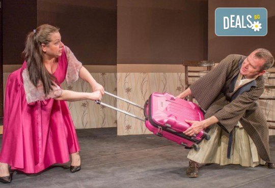 Щура комедия с Милица Гладнишка! Гледайте Брачни безумия, на 14.04. от 19ч. в Театър Сълза и Смях, билет за един - Снимка 6