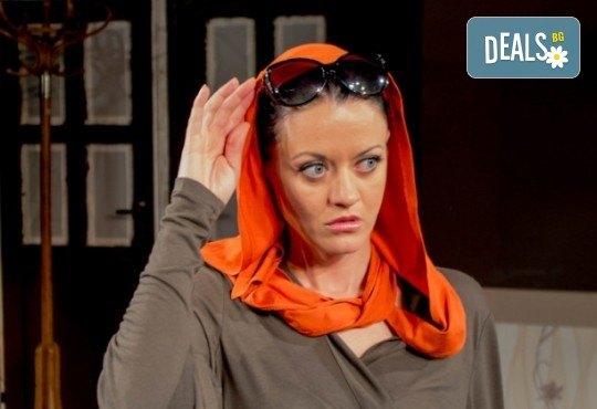 Щура комедия с Милица Гладнишка! Гледайте Брачни безумия, на 14.04. от 19ч. в Театър Сълза и Смях, билет за един - Снимка 3