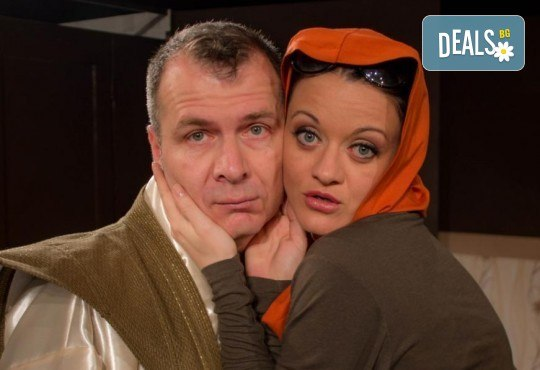 Щура комедия с Милица Гладнишка! Гледайте Брачни безумия, на 14.04. от 19ч. в Театър Сълза и Смях, билет за един - Снимка 2