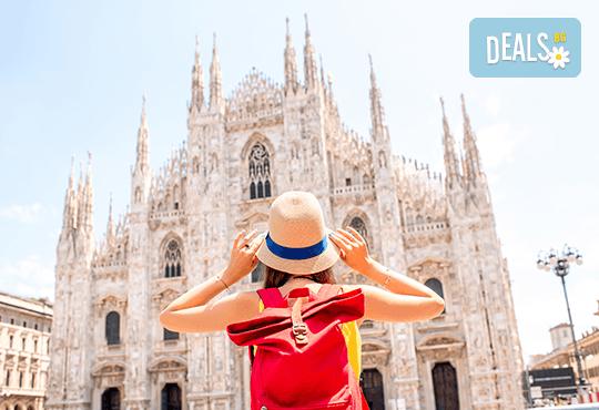 Екскурзия през май до Милано, Италия! 3 нощувки със закуски, самолетен билет за полет от Варна и летищни такси - Снимка 1