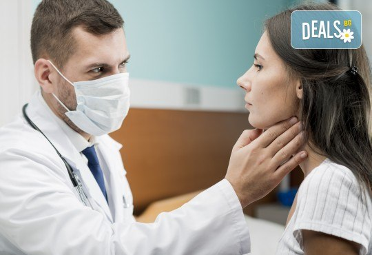 Преглед при ендокринолог, ехографски преглед на щитовидна жлеза от МЦ Хармония!