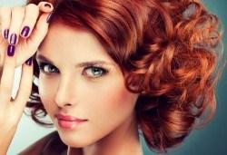 Внесете цвят в косите си! Боядисване с боя на клиента, масажно измиване, маска и сешоар - прав или букли в Marbella Beauty Studio! - Снимка