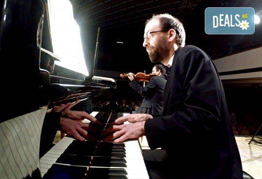 """Quarto Quartet и специалния гост-пианист Христо Казаков представят концерта """"Безсмъртна любима"""", на 10.04. от 19ч, в зала България, 1 билет - Снимка 3"""