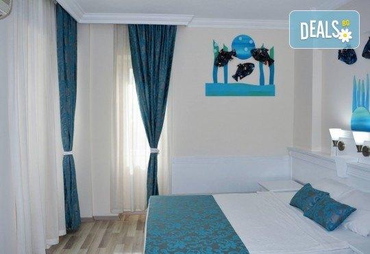 Почивка през юни в The Garden Beach Hotel 5*, Алания, Турция! 7 нощувки на база All Inclusive и възможност за транспорт от Запрянов Травел - Снимка 3