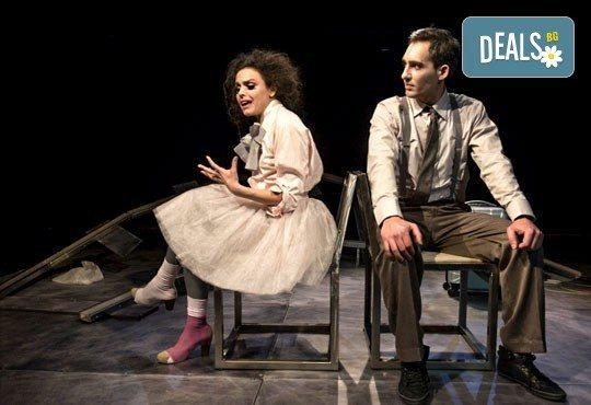 Гледайте Симона Халачева и Юлиян Рачков в Апетит за череши на 15.04. от 19ч. в Театър София, билет за един - Снимка 2