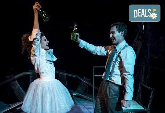 Гледайте Симона Халачева и Юлиян Рачков в Апетит за череши на 15.04. от 19ч. в Театър София, билет за един - Снимка 3