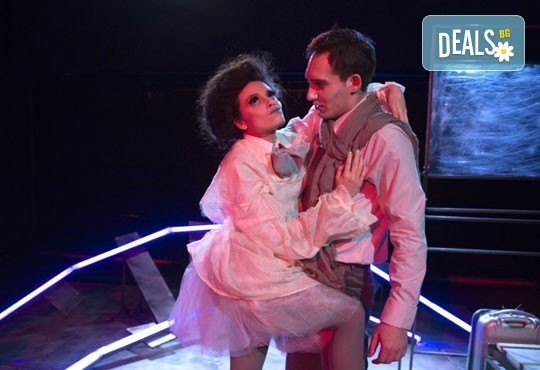 Гледайте Симона Халачева и Юлиян Рачков в Апетит за череши на 15.04. от 19ч. в Театър София, билет за един - Снимка 5
