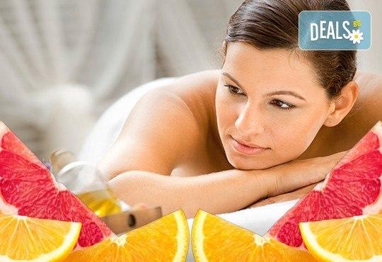 Отървете се от токсините с 60-минутен детоксикиращ масаж с аромат на розмарин и цитруси за релаксация на тялото и укрепване на имунната система в студио Giro! - Снимка 2