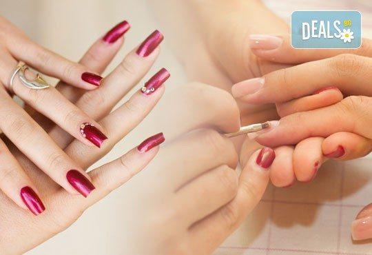 Красиви нокти! Ноктопластика с изграждане и 4 рисувани декорации в Салон за красота Belisimas - Снимка 2