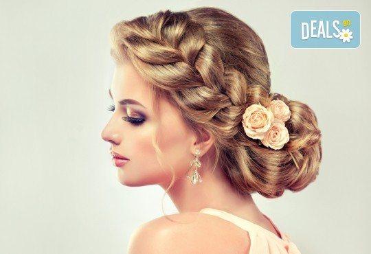 За Вас абитуриенти! Официална абитуриентска прическа при стилист на Салон за красота Blush Beauty! - Снимка 2