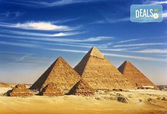 Екскурзия в Египет през есента! 4 нощувки на база All Inclusive в Хургада, 3 нощувки на база FB на круизен кораб 5*, самолетен билет, летищни такси, трансфери и богата програма - Снимка 1