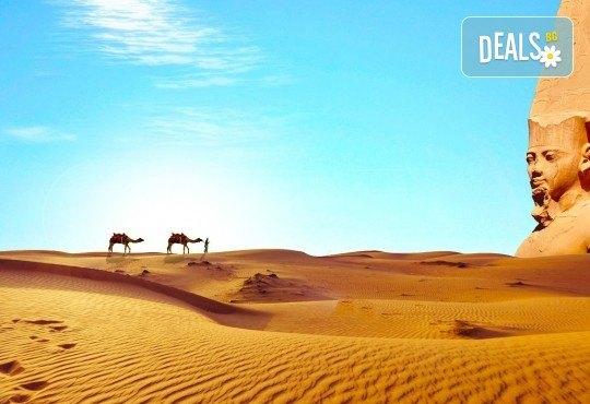 Екскурзия в Египет през есента! 4 нощувки на база All Inclusive в Хургада, 3 нощувки на база FB на круизен кораб 5*, самолетен билет, летищни такси, трансфери и богата програма - Снимка 2