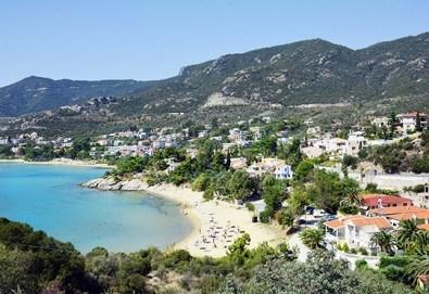 Почивка през май или юни в курортно селище Палио, близо до Кавала, Гърция! 1 нощувка със закуска в aпартхотел House Elena, безплатно за дете до 3г. - Снимка