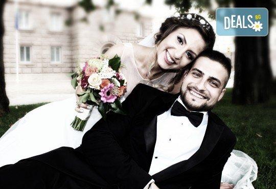 Пакети за сватбено тържество: фото и видео заснемане, арт фотосесия, дрон, GoPro, клип