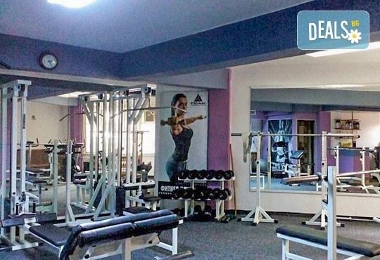 Неограничен брой тренировки с инструктор за жени и мъже в рамките на 30 дни и изготвяне на индивидуална тренировъчна програма от фитнес клуб Алпина! - Снимка 5