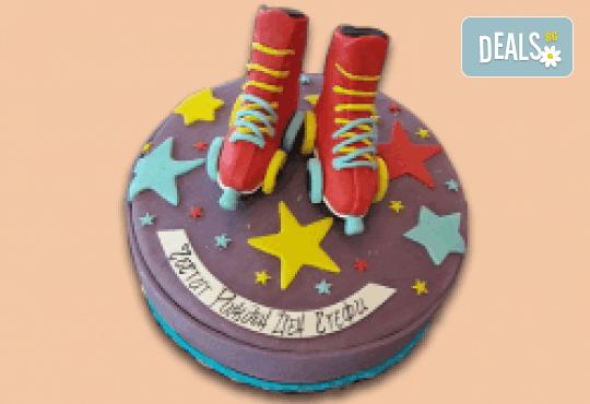 За принцеси! Торта с 3D дизайн с корона, еднорог или друг приказен герой от Сладкарница Джорджо Джани! - Снимка 9
