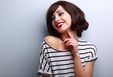 Освежете прическата си! Подстригване и оформяне със сешоар във фризьорски салон Даяна! - Снимка