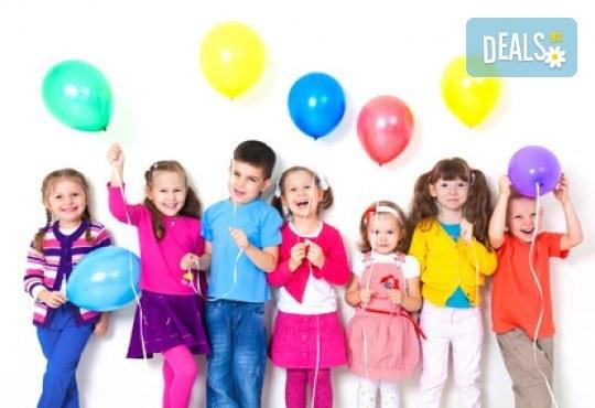 Забавление за всички! Детски рожден ден за до 10 деца с меню, торта и занимателни игри в кафе-клуб Весело местенце в кв. Овча купел! - Снимка 1