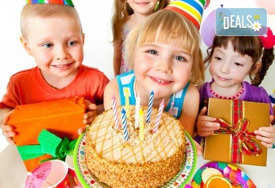 Забавление за всички! Детски рожден ден за до 10 деца с меню, торта и занимателни игри в кафе-клуб Весело местенце в кв. Овча купел! - Снимка 2