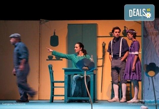 На театър с децата! Гледайте новата приказка Хензел и Гретел на 12.05. (събота) от 11 ч. в Младежки театър, голяма сцена! Билет за един - Снимка 8