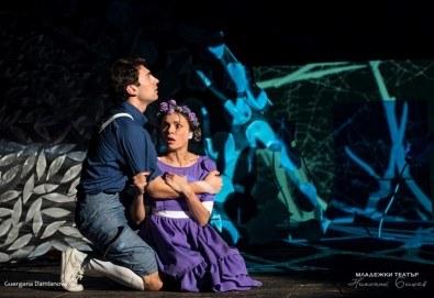 На театър с децата! Гледайте новата приказка Хензел и Гретел на 12.05. (събота) от 11 ч. в Младежки театър, голяма сцена! Билет за един - Снимка