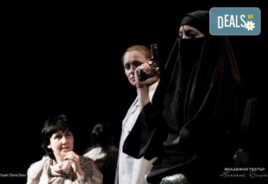 """Tри великолепни актриси в """"Nordost - приказка за разрушението""""! Гледайте на 31.05. от 19ч. в Младежки театър, камерна сцена, билет за един! - Снимка 2"""