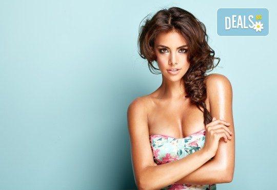 Освежете прическата си с арганова терапия, оформяне със сешоар и плитка от Beauty center D&M! - Снимка 1