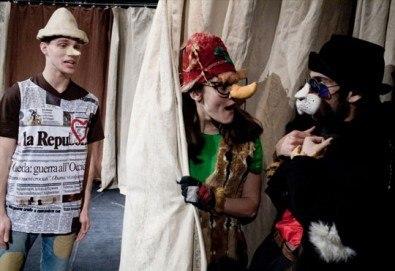 На театър с децата! Гледайте Пинокио в Младежки театър, на 26.05. от 11ч., Голяма сцена, един билет - Снимка