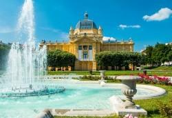 Септемврийски празници в Загреб, Хърватия! 3 нощувки със закуски, транспорт и възможност за посещение на Плитвичките езера, Постойна яма, Предямския замък - Снимка