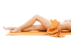 Комбинирана антицелулитна процедура в 4 стъпки - пилинг, мануален масаж, инфраред терапия и увиване с фолио за постигане на сауна ефект в студио Нимфея! - Снимка