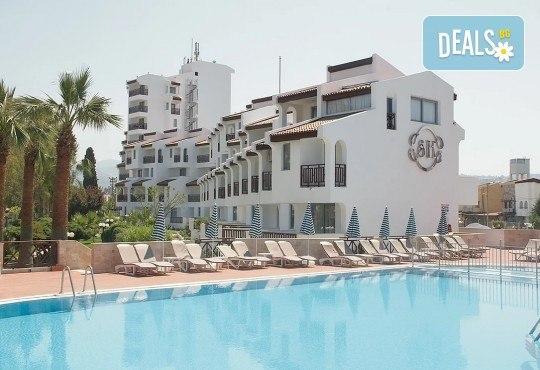 Почивка в хотел Sentinus 4*, Кушадасъ, Турция, през май! 5 или 7 нощувки на база All Inclusive, безплатно за дете до 12.99г. и възможност за транспорт! - Снимка 1