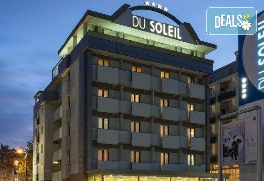 Почивка в Римини, Италия, през юни! 7 нощувки със закуски и вечери в Hotel Du Soleil 4*, самолетен билет с летищни такси, трансфери и екскурзии до Болоня и Сан Марино - Снимка 4