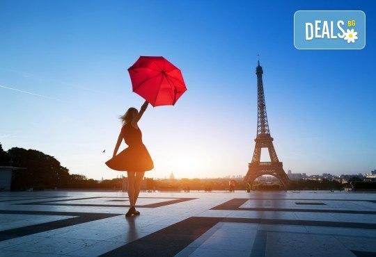 Самолетна екскурзия до Париж: 3 нощувки със закуски, билет, трансфер и такси