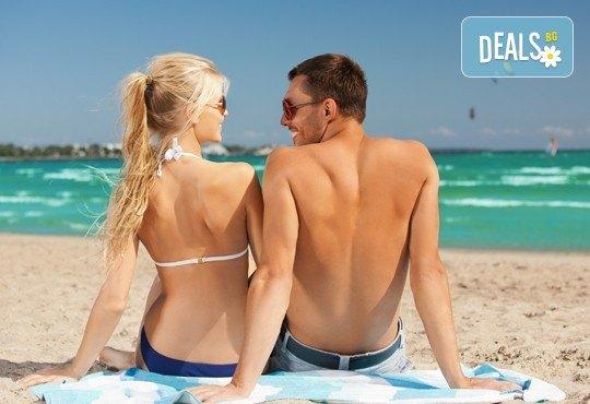 Слънце, пясък и море! Еднодневна екскурзия с плаж до Офринио, Гърция - транспорт и водач от Глобус Турс! - Снимка 1