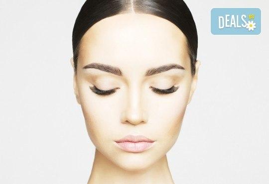 Съблазнителни очи! Поставяне на 3D мигли руски обем в салон за красота Bellisima! - Снимка 3